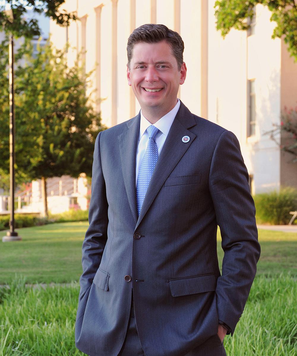 Mayor David Holt (2018- ), Official Portrait