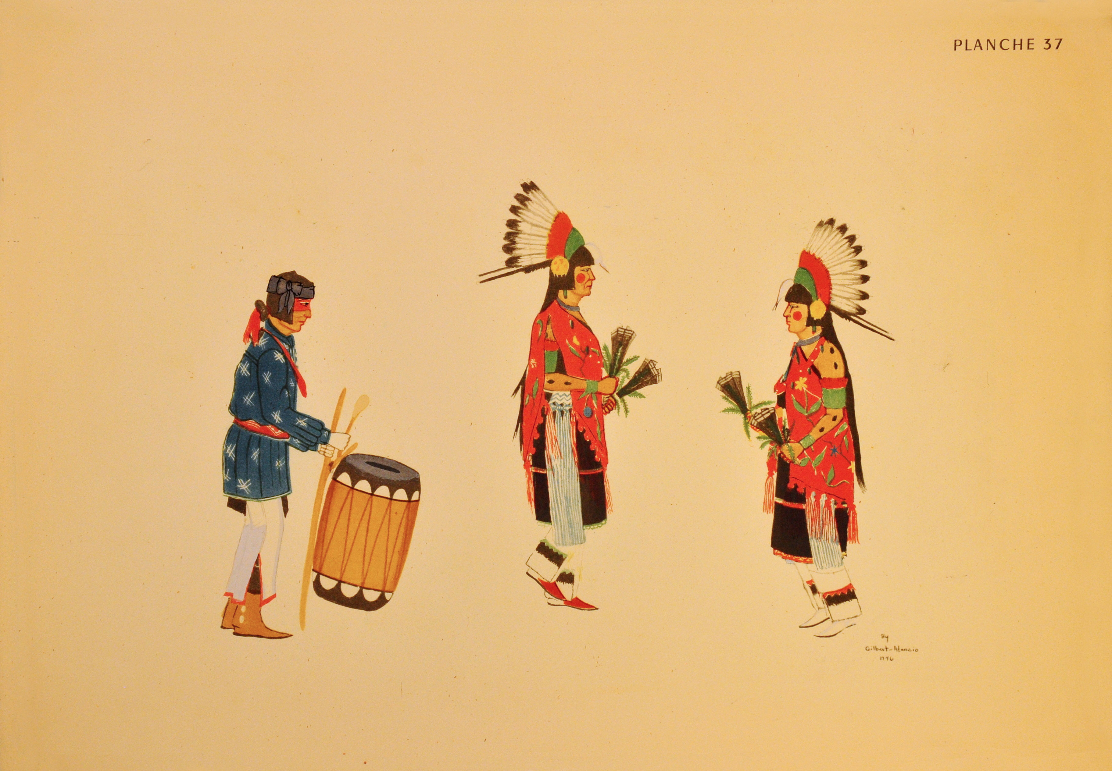 San Ildefonso Women Dancers