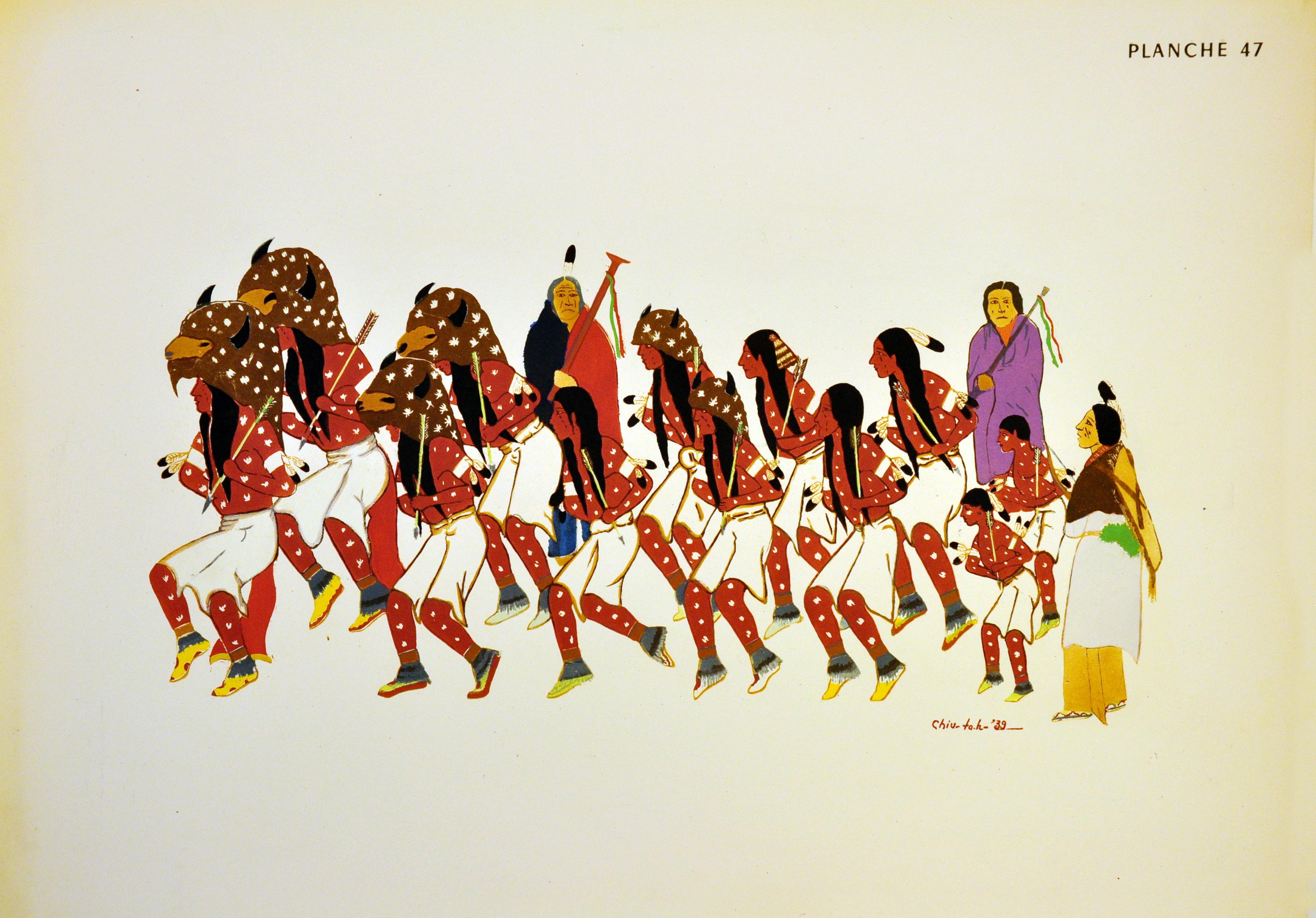 Taos Buffalo Dancers